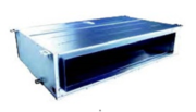 Commercial Split System. Middle-static pressure duct. MTI series