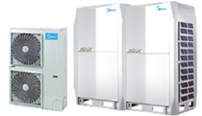 Midea DX-system (direct evaporator systems)