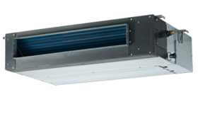 Commercial air-conditioners.Freon. Indoor VRF. Ducted VRF medium pressure