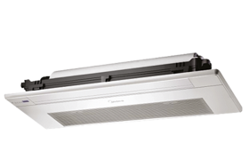 Commercial air-conditioners. Hydronic systems. Fan coil. 1-way cassette
