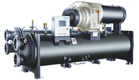Commercial air-conditioners. Hydronic systems. Industial liquid. Centrifugal compressor