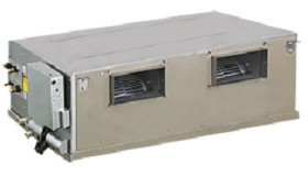 High-static pressure duct inverter