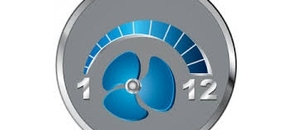 12 Grades Indoor Fan Speeds
