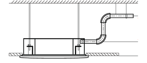 Built-in drain pump